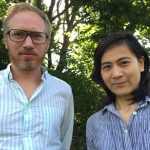 Alain Della Negra et Kaori Kinoshita