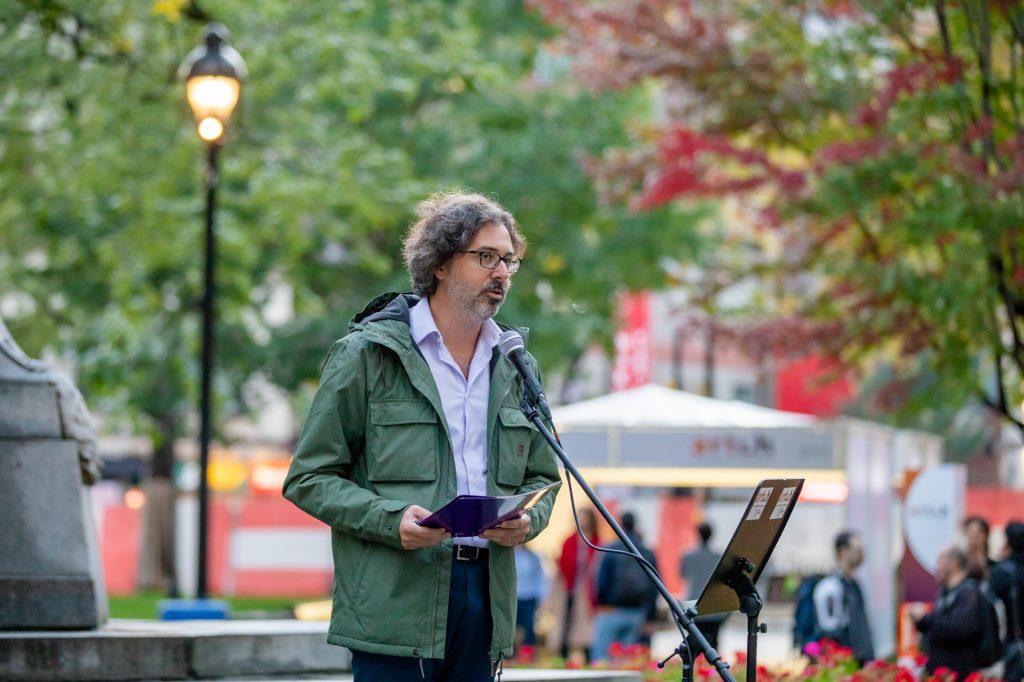 Artch 2018 - Julien Valmary, Conseil des arts de Montréal - Square Dorchester
