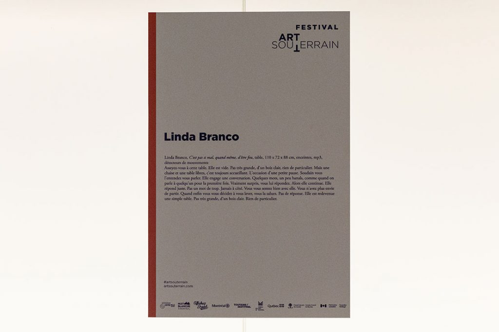 Linda Branco - Sans titres