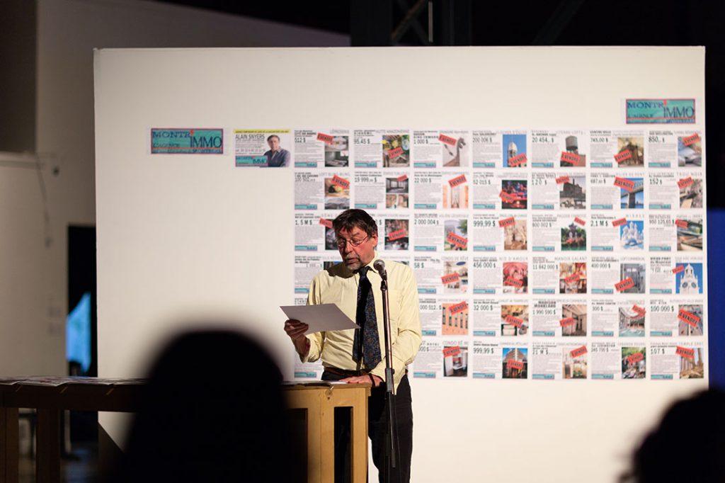 Alain Snyers - Encan de l'Agence Montr'Immo à L'Arsenal