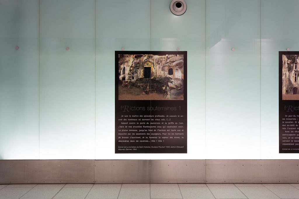 Olivier Huet - f(R)ictions souterraines