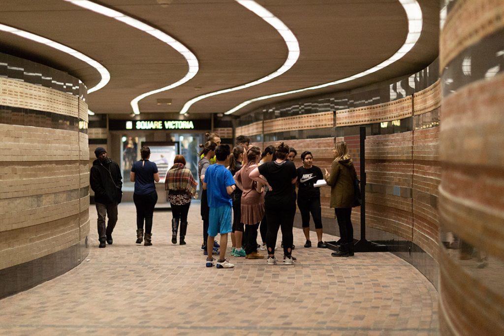 Festival Art Souterrain 2019 - Au pas de course - Square Victoria