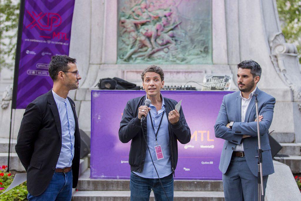 Artch 2019 - Soirée de pré-ouverture au Square Dorchester - Martin CHoquette et Frédéric Loury