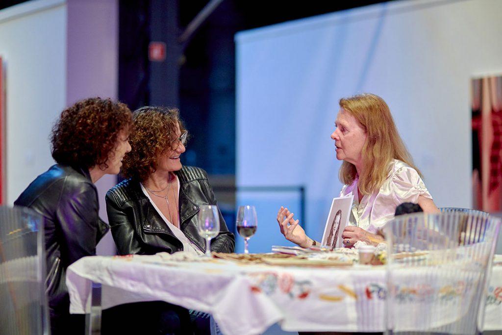Soirée de levée de fonds - performance Jacqueline van de Geer