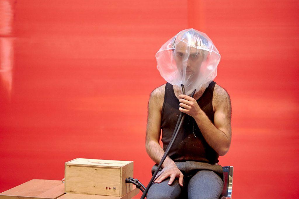 Soirée de levée de fonds - performance François Couture