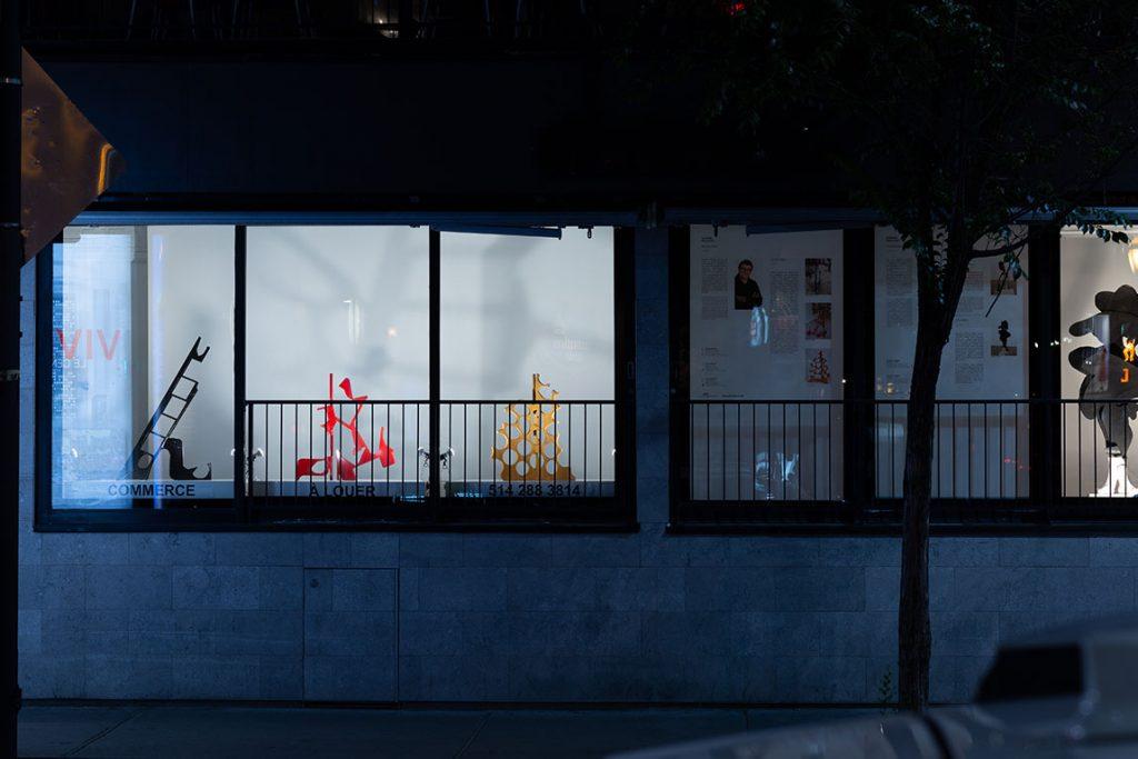 Claude Millette - Vitrine sur l'art 2019 - 1471 Rue Crescent