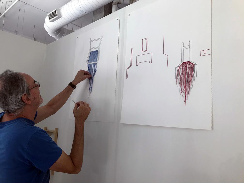Serge Marchetta - Vitrine sur l'art 2019 - montage