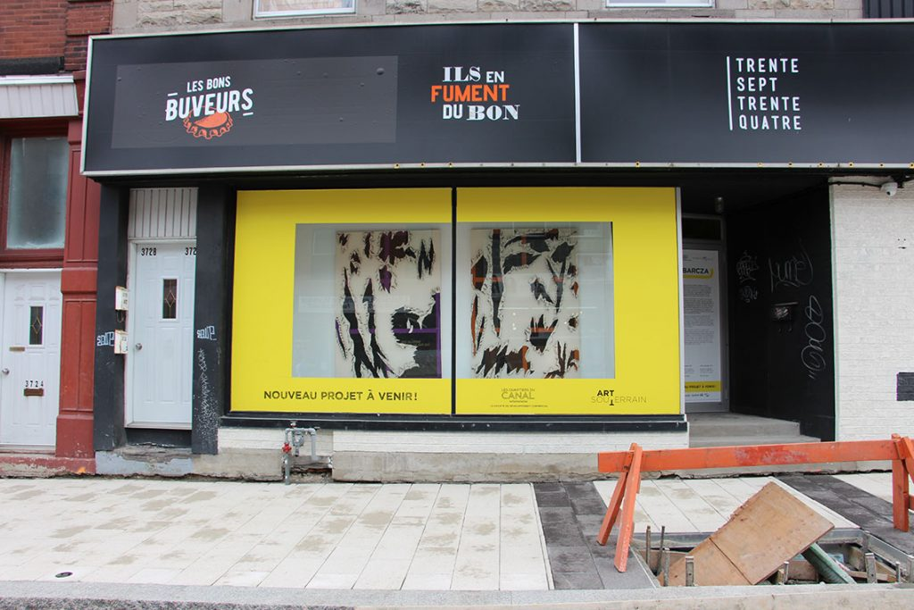 Déviation 2017 - Rue Notre-Dame Ouest