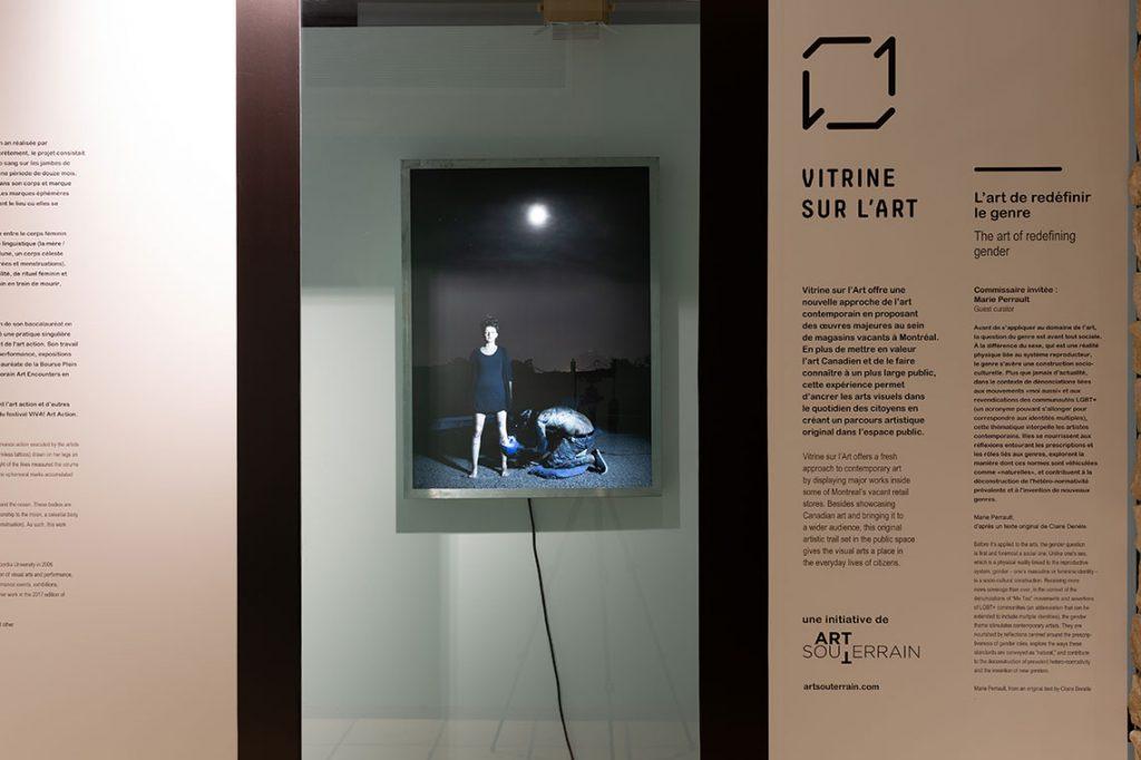 Michelle Lacombe - La boîte lumineuse - Vitrine sur l'art 2018