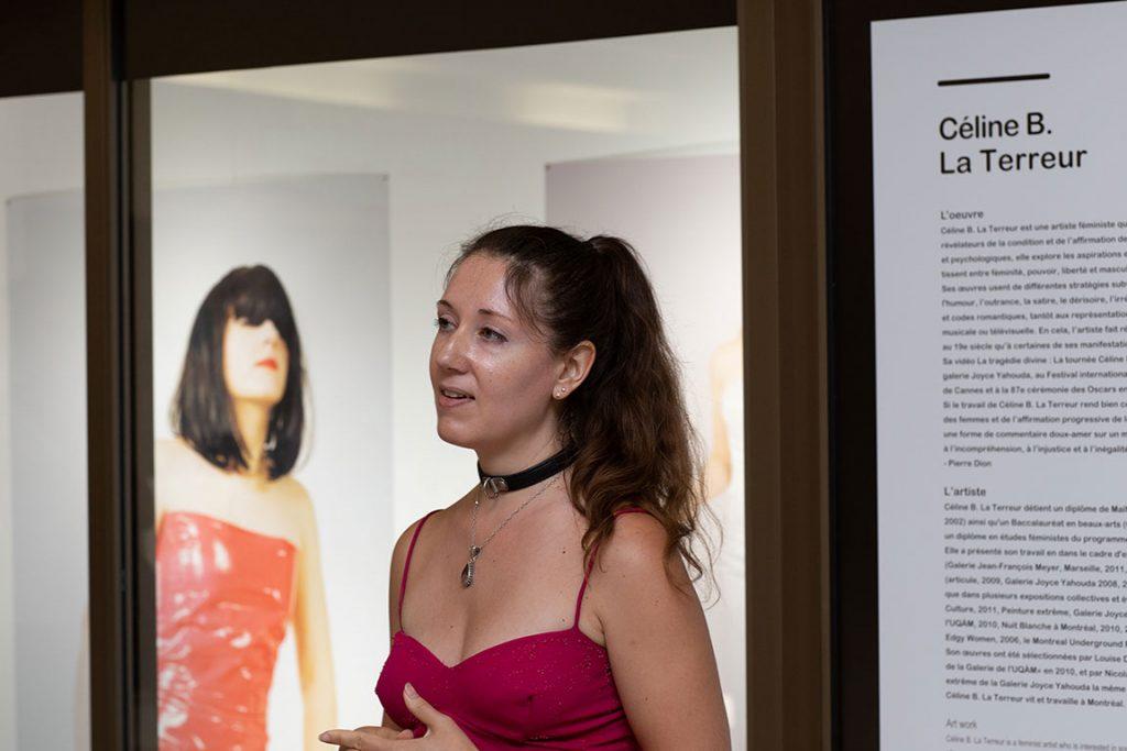 Vitrine sur l'art 2018 - Visite guidée - Céline B. La Terreur