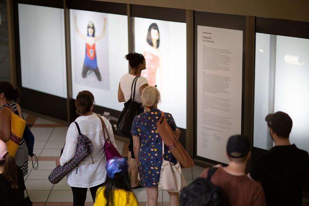 Vitrine sur l'art 2018 - Visite guidée