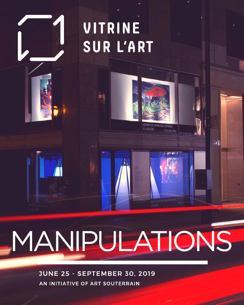 Vitrine sur l'art 2019 - Manipulations
