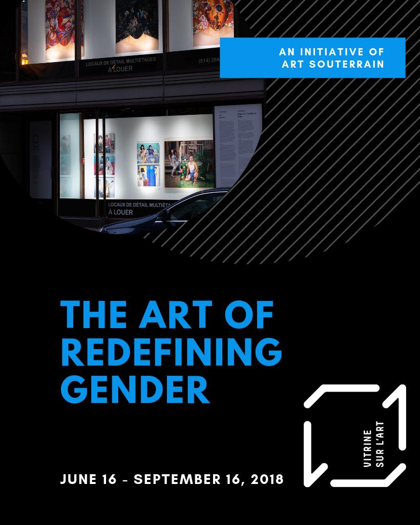 Vitrine sur l'art 2018 - The art of redefining gender