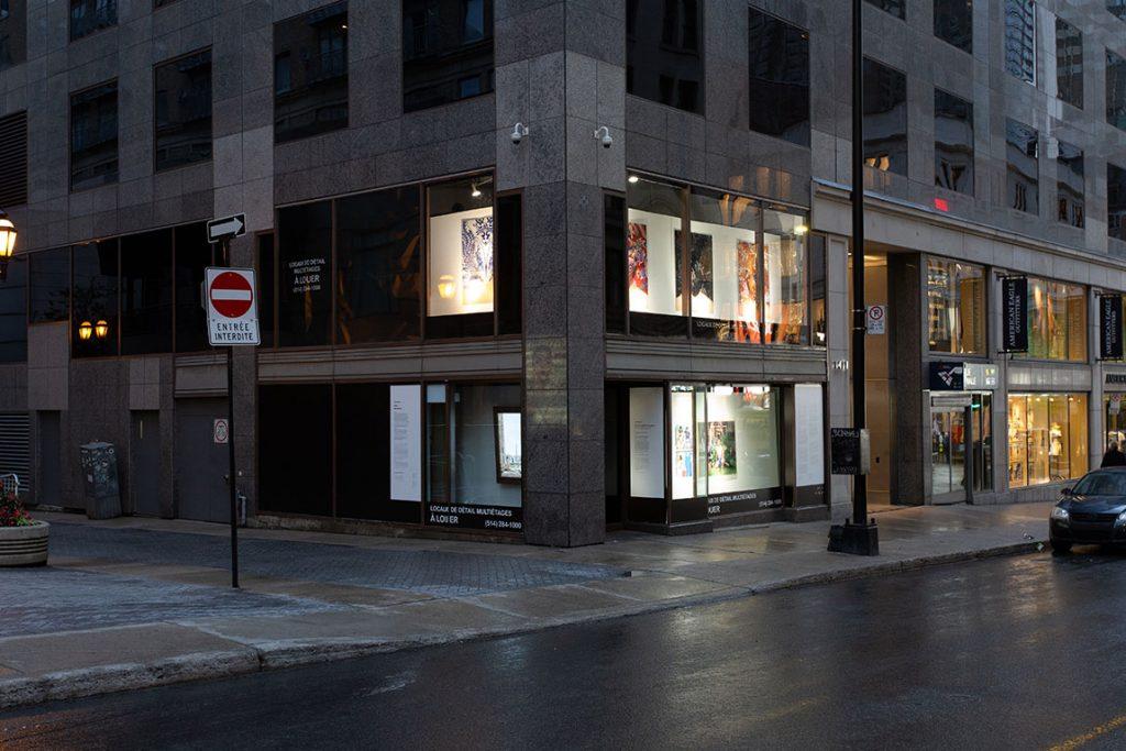 Vitrine sur l'art 2018 - Rue Peel