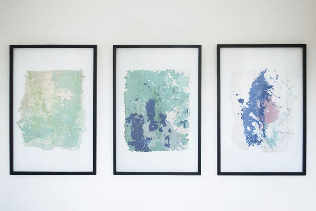 Camille Lescarbeau - Peinture et papier