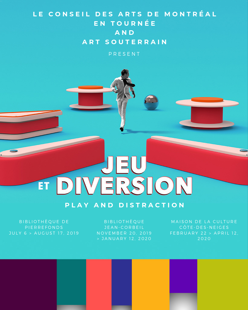 Conseil des art de Montréal en tournée 2019-2020 - Play and Distraction