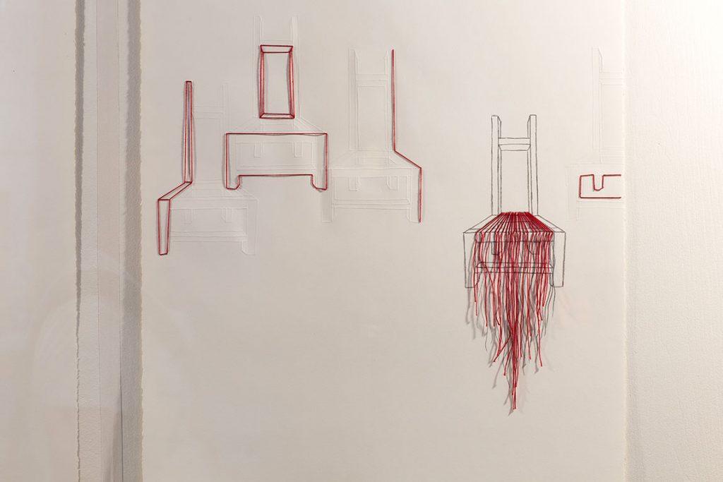 Serge Marchetta - Assise 8 - Vitrine sur l'art 2019