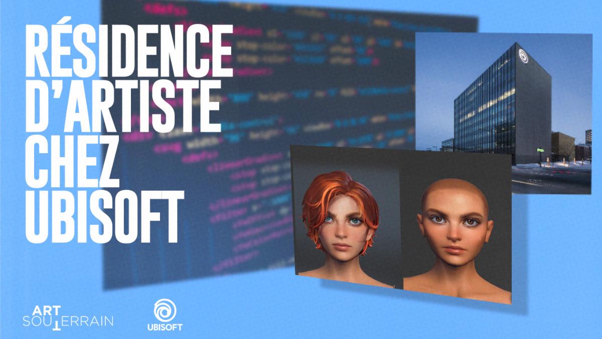 Résidence d'artiste chez Ubisoft