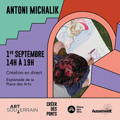 Création en direct - Antoni Michalik - 1er septembre