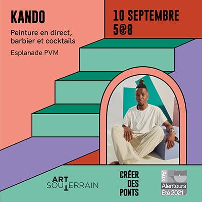 Peinture en direct - Kando - 10 septembre
