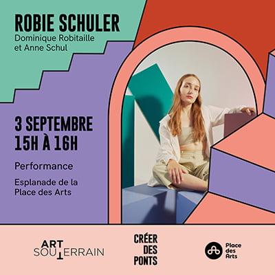 Performance de Robie Schuler, Dominique Robitaille et Anne Schul - 3 septembre